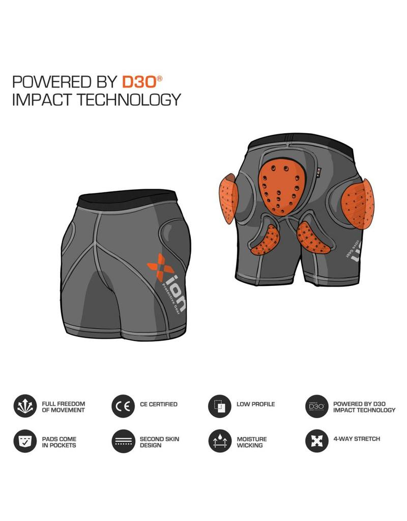 Xion Protective Gear Shorts Freeride Women