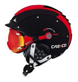 Casco Casque SP-5 Visor Helm Noir Rouge