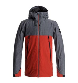Quicksilver Ski Jacket Sierra Snow Ketchup Red