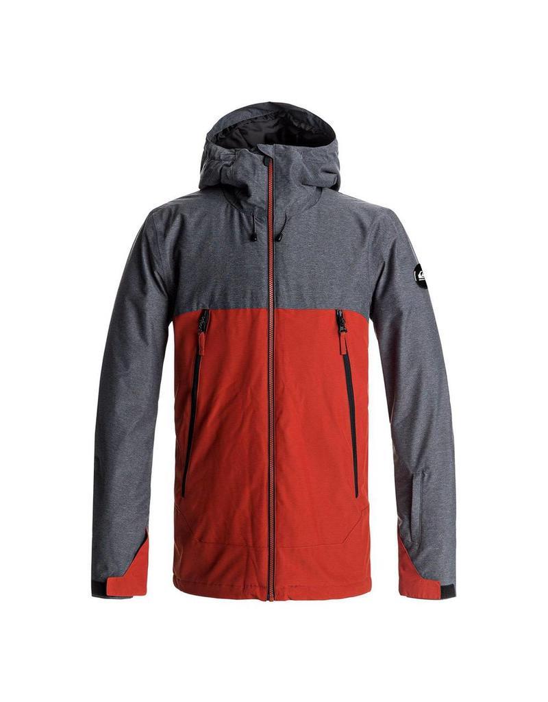 Quiksilver Men's Sierra Ski/Snowboard Jacket Ketchup Red