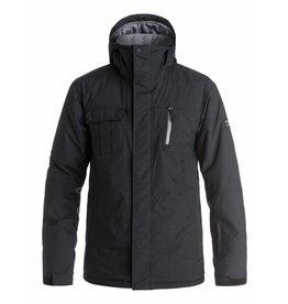 Quiksilver Manteau de ski Mission Solid Noir