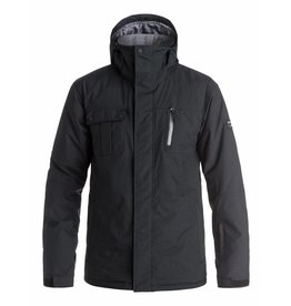 Quiksilver Ski Jacket Mission Solid Black