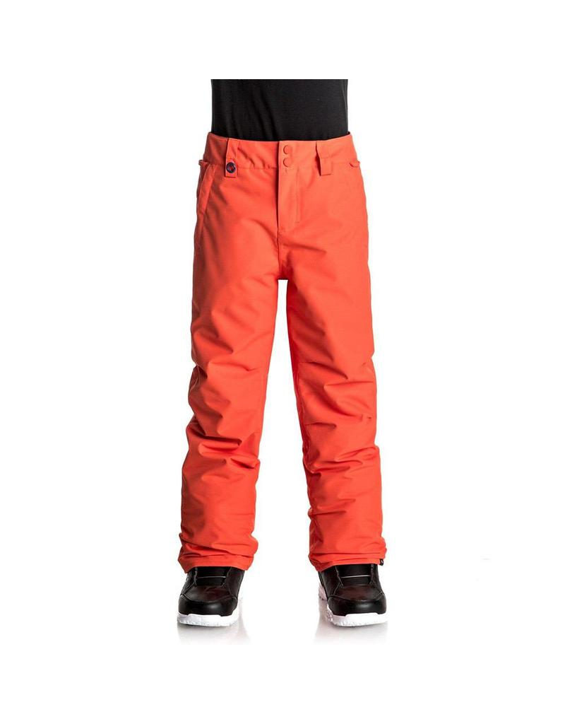 Quiksilver Estate Youth Ski/Snowboard Pants Mandarin Red
