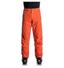 Quiksilver Pantalon de Ski/Snowboard Homme Estate Rouge