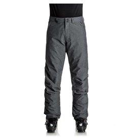 Quicksilver Estate Ski Pants Black Heather