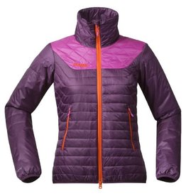 Bergans Uranostind Insulated Lady Jacket Plum Hot Pink