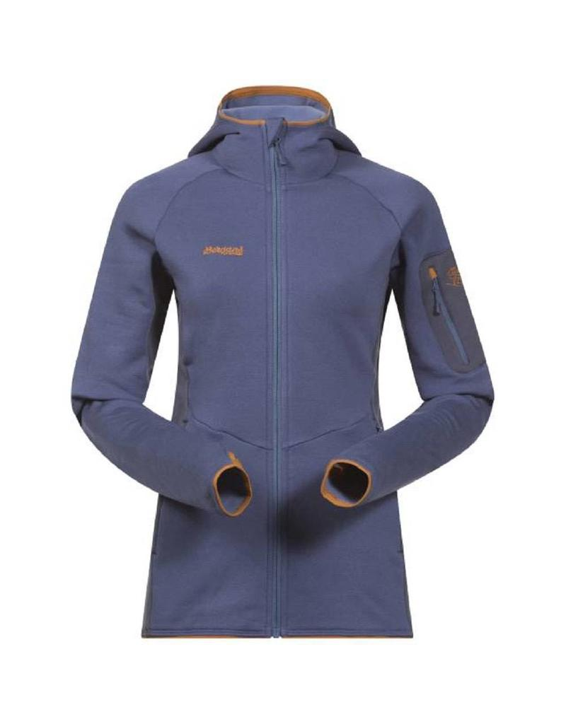 Bergans Paras Lady Jacket Dusty Blauw