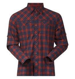 Bergans Granvin Shirt Navy Rood