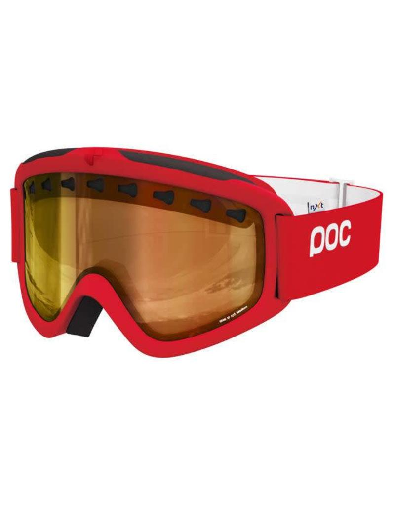POC Iris 3P NXT Photochromatic Goggle Bohrium Red