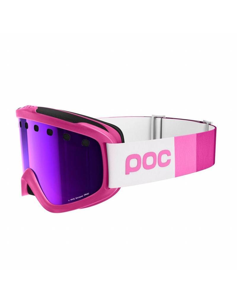 POC Iris Stripes Goggle Ethylene Pink Grey