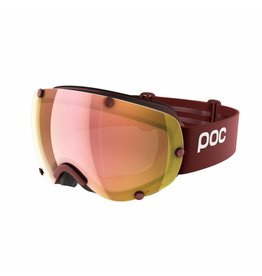 POC Lobes Clarity Skibril Lactose Red/Sp Rose Gold