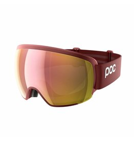 POC Orb Clarity Skibril Lactose Red