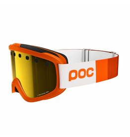 POC Iris Stripes Skibril Zink Orange