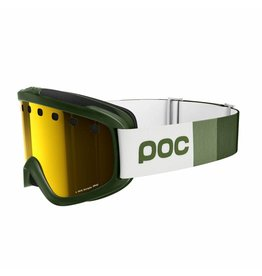POC Iris Stripes Goggle Methane Green Pink