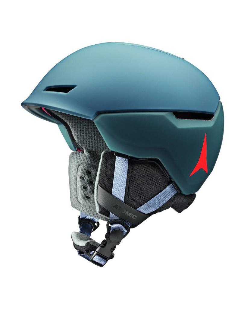 d88e7907e06 Atomic Revent+ LF Helmet Grey Blue - Ski Center Heemskerk