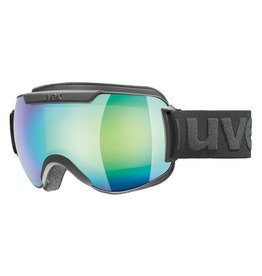 Uvex Downhill 2000 FM Skibril Black-Mat/Green