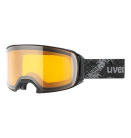 Uvex Craxx OTG LGL Skibril Black Mat