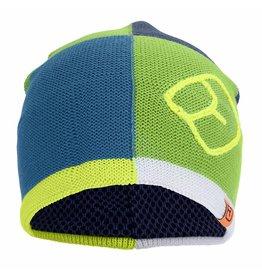 Ortovox Patchwork Beanie Matcha Green