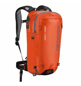 Ortovox Ascent 22 Avabag Crazy Orange