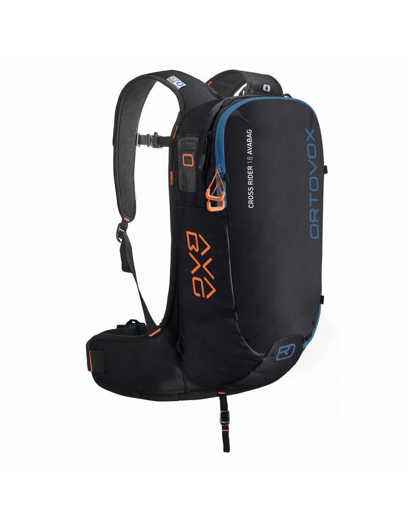Ortovox Cross Rider 18 Avabag Black Raven