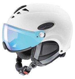 Uvex Hlmt 300 Visor Vario Ski Helmet White-Mat