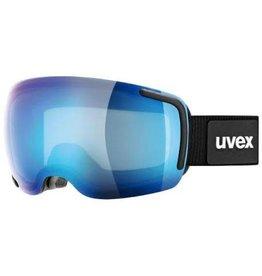 Uvex Big 40 FM Goggle Black Blue Mat