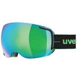 Uvex Masque Big 40 FM Black Verte Mat