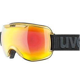 Uvex Downhill 2000 FM Skibril Chrome Yellow