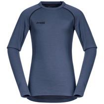 Bergans Akeleie Youth Shirt Fogblue