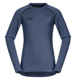 Bergans Akeleie Youth Shirt Fogblue