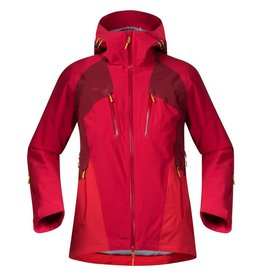 Bergans Oppdal Lady Jacket Red Burgundy