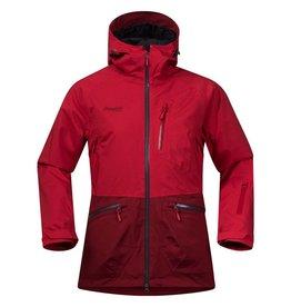 Bergans Myrkdalen Insulated Jacket Dames Rouge