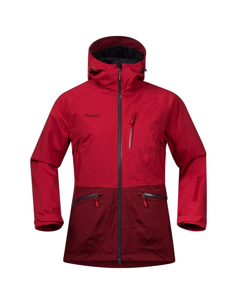 Bergans Myrkdalen Insulated Lady Jacket Red Burgundy