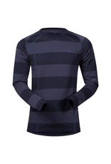 Bergans Fjellrapp Shirt Dark Navy Blue Striped