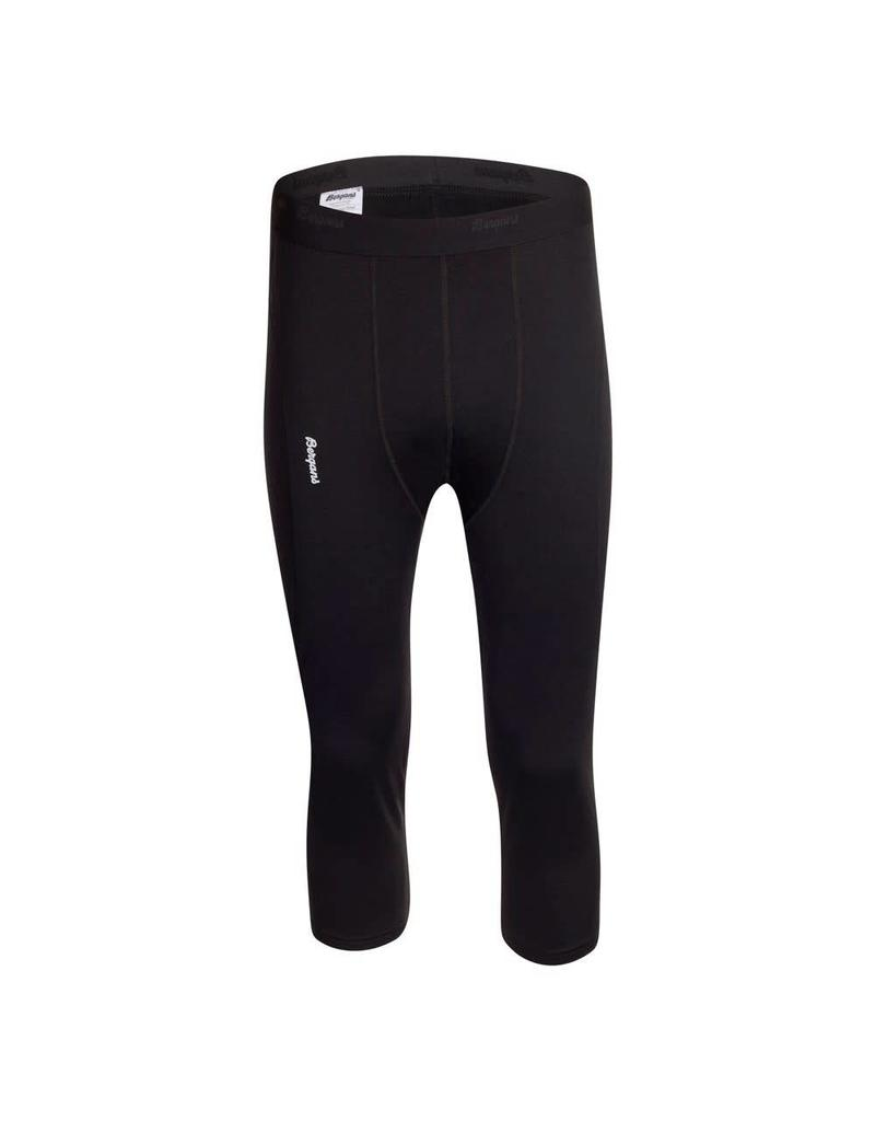 Bergans Fjellrapp 3/4 Tights Black