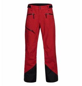 Peak Performance Men's GoreTex Teton Shell Ski Pants Red Pompeian