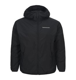 Peak Performance Krypton Hooded Ski Jas Zwart