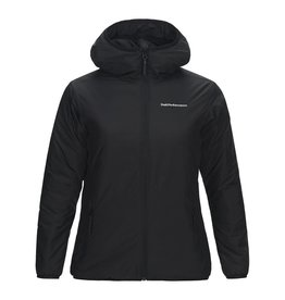 Peak Performance Krypton Hooded Dames Jas Zwart