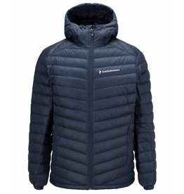 Peak Performance Frost Down Hooded Jacket Blue Shadow