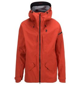 Peak Performance Men's Teton GoreTex Shell Jacket Orange Planet