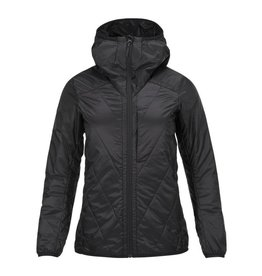 Peak Performance Helo Liner Dames Jas Zwart