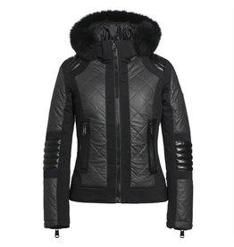Goldbergh Allegra Fur Jacket Black