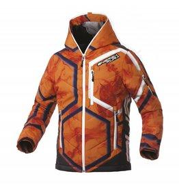 Energiapura Color Hooded Jacket Lady Smoke Orange