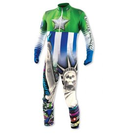Energiapura Thermo Race Suit JR America Green
