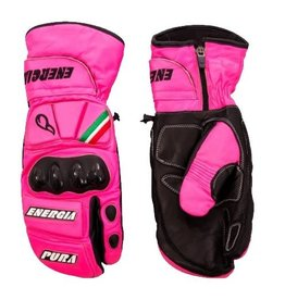 Energiapura Race Mittens Gloves JR Fuxia