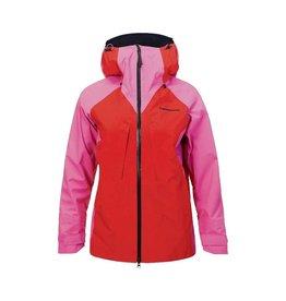 Peak Performance Women's GoreTex Teton Shell Jacket Vibrant Pink