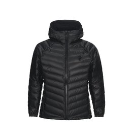 Peak Performance Frost Dry Down Hooded Jacket Black