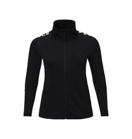 Peak Performance Women's Rider Mid Layer Zip-Up Jacket Black