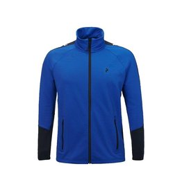 Peak Performance Men's Rider Mid-Layer Zip Jacket Island Blue