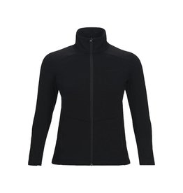 Peak Performance Women's Helo Mid Layer Zip-Up Jacket Black